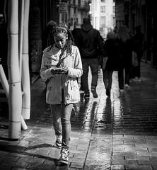 (rayan_62) Tags: barcelona street espaa catalonia bn catalunya callejera espain