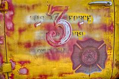 Hope FD 2016 (Kansas Poetry (Patrick)) Tags: abandoned firetruck kansas firedepartment patrickemerson patricknancyforever mildredkansas hopekansas