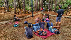 HDR using mobile - Baguio Camp john hay picnic area (sunokie) Tags: park mobile picnic philippines baguio hdr nokie casido