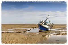 Beached (Katybun of Beverley) Tags: seascape boat shoreline shore beached meols thewirral