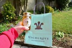 103 2016 a lovely gift from Highgrove (Margaret Stranks) Tags: bag honey 2016 365days highgrove 103366 royalgardenhoney