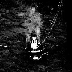 Smoke (Albert_Castle) Tags: blackandwhite blancoynegro silver monocromo blackwhite chains cadenas smoke plata humo bianconero incense biancoenero incenso fumo monocrome plateado argento incienso catene monocromatico monocromatica argenteo