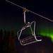 Northern lights in Lindvallen