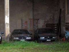 Citroën Xantia 2.0i 16v 1999 - Alfa Romeo 155 1.7i Twin Spark 1994 (LorenzoSSC) Tags: citroën xantia 20i 16v 1999 alfa romeo 155 17i twin spark 1994