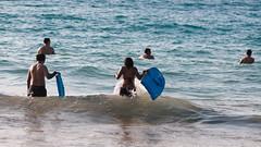 Hapuna Beach (.Manisha.) Tags: ocean beach hawaii bigisland boogieboard hapunabeach 2254 20151228