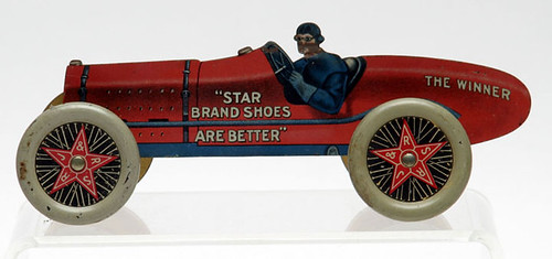 Star Brand Shoes Toy Racer - $1430.00 (Sold October 2, 2015)