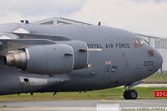 ZZ172 Boeing C-17A Globemaster III Royal Air Force (Maxime Spotting Aviation) Tags: nikon force aircraft air iii bordeaux royal boeing globemaster maxime avion d90 mrignac c17a zz172 lfbd camoujuncas