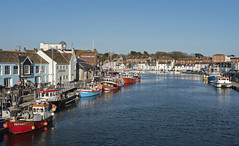 The Old Harbour in Weymouth, England (John Picken) Tags: england harbor boat harbour dorset weymouth oldharbour oldharbor