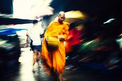 Bangkok (Brendan  S) Tags: thailand bangkok streetphotography monks buddhistmonks chinatownbangkok bangkokstreet blurwillsavetheworld discoverbangkok brendans brendansstreetphotography monogramasia