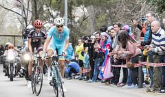 Tiburn! (Alejandro Gonzlez Amador) Tags: espaa sport giant cycling spain exterior action outdoor ciclismo deporte catalunya catalua volta montjuc astana accin alpecin