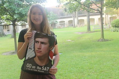 Sophie and OD on the SAT Poster (nylajennings) Tags: poster sophie isp worscheh