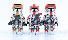 Gear up soldier! (CloneArmyCustoms) Tags: old trooper star republic knights captain wars squad havoc swotor