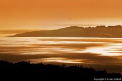 Golden Sunset Bykekmece Istanbul (NATIONAL SUGRAPHIC) Tags: sunset cityscape trkiye cityscapes sunsets istanbul april reflaction gnbatm yansma turkei bykekmece cityscapephotography bykekmecegl gnbatmlar sugraphic lakebykekmece yenitrkiye newturkei nationalsugraphic