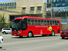 Land Car, Inc. 169 (Monkey D. Luffy 2) Tags: road city bus public photography photo coach nikon philippines transport vehicles transportation coolpix daewoo vehicle society davao coaches aspire philippine enthusiasts rtr philbes bs106