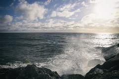 (M J Adamson) Tags: ocean sea newzealand boats coast coastal nz fishingboats tasmansea westcoast westcoastholiday2016