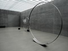 Large Circle, In Motion (Nicote) Tags: sculpture motion art circle grey michael artist steel large plus tension sculptor between greys strain in danner springsteel donaueschingen