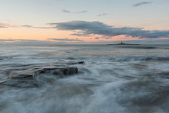 Coquet Island - Northumberland (Callaghan69) Tags: sunset sea lighthouse seascape beach water landscape island coast seaside nikon waves tokina northumberland coastal coastline filters nisi coquet d810 ukbeaches lowhauxley