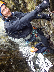Honister_Via Ferrata (17 of 73) (Kevin John Hughes) Tags: bridge england lake snow mountains net landscape scary burma rope cargo climbing pike keswick buttermere honister dostrict fleetwith mountineering