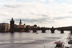 Puente Carlos (Federico Stariha) Tags: barcelona italy espaa netherlands amsterdam florence europa europe italia prague belgium brugge praga florencia bruselas venecia venezia belgica brujas republicacheca