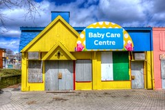 Baby Care Centre (euanwhite) Tags: baby yellow centre cne care hdr