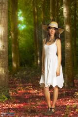 Eva (www.DigitRegards.com) Tags: portrait france nature forest eva personnes modle modles wwwdigitreagrdscom
