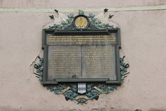 War memorial at Hauptstrae 115 in Zell am Main (Bjrn S...) Tags: bayern bavaria franconia franken warmemorial zell baviera franconie bavire gefallenendenkmal hauptstrase zellammain zellamain hauptstrase115