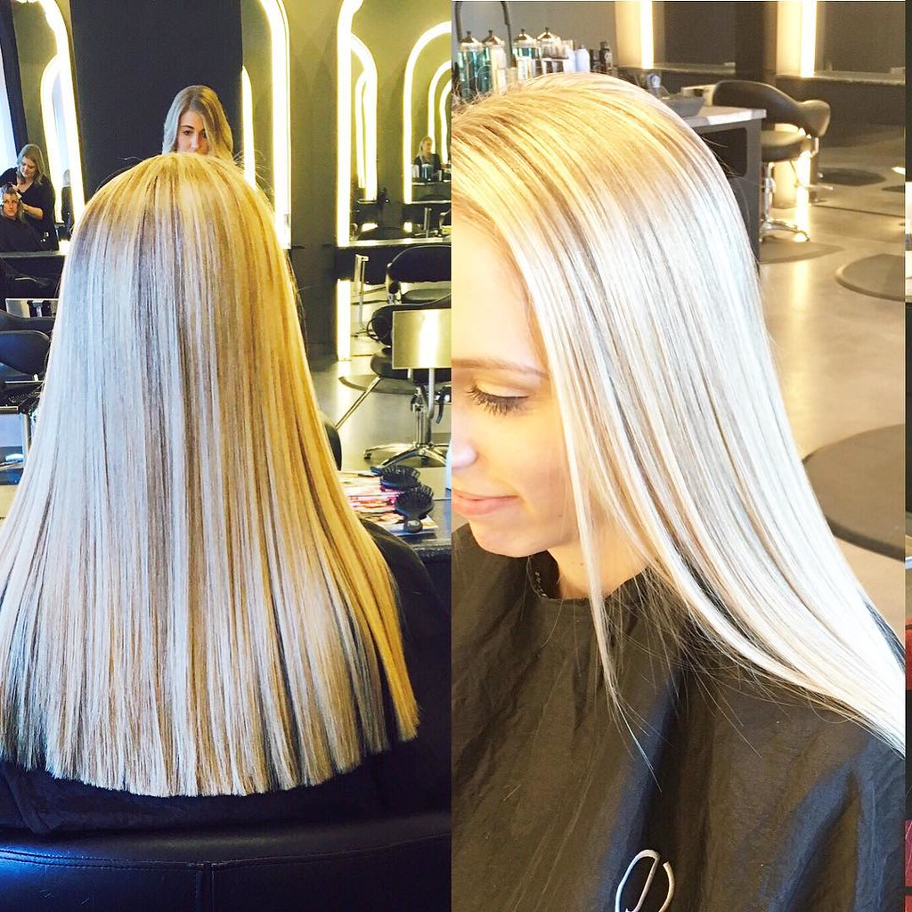 Smooth and Sleek Blonde Hair by G Michael Salon in Indianapolis (G ...