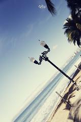 malecn (betho itinerante) Tags: luz sol azul mar sombra dia cielo nubes vallarta horizonte malecn soleado costera