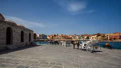 Chania Crete, Greece (Mau&Sa) Tags: city sea horses colors greek seaside mediterranean colours mosque creta greece crete colori moschea chania ef1740mmf4lusm canea eos5dmarkii