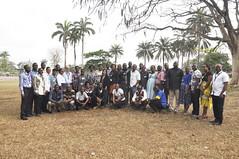 Group photo of participants at cassava team building workshop (IITA Image Library) Tags: workshop breeding nigeria teambuilding cassava ibadan manihotesculenta