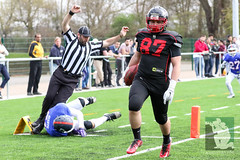 "GFL Juniors Dortmund Giants vs. Düsseldorf Panthers 09.04.2016 018.jpg • <a style=""font-size:0.8em;"" href=""http://www.flickr.com/photos/64442770@N03/26330734265/"" target=""_blank"">View on Flickr</a>"