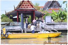 The yellow boat (Ghatahora Photography) Tags: thailand singapore chaophrayariver boathouses hampshirephotographer songsoftheseasingapore bhupinderghatahora ghatahoraphotography chinesepogodatowertemple floatingmarketchaophraya tourriverbangkokthailand marketoutsidewatarun