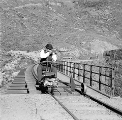 Rabbit hunting on the Otago Central Railway (now often referred to as the Taieri Gorge Railway), South Island of New Zealand, ca. 1900. [1600x1583] #HistoryPorn #history #retro http://ift.tt/1Tf8ls2 (Histolines) Tags: ca new rabbit history island south hunting central railway retro zealand 1900 timeline otago gorge now often taieri vinatage referred historyporn histolines 1600x1583 httpifttt1tf8ls2