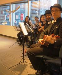 Ukulele Group (Justin3.14) Tags: music musicians ukulele strings