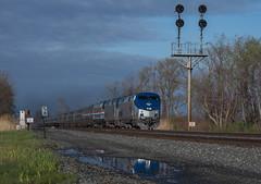 Storm Light on the Lakeshore (Joseph Bishop) Tags: railroad ny train track tracks rail railway trains amtrak lakeshore rails ge westfield limited 85 147 railfan 710 p42 amtk cp58