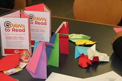 Origami at the Shawnee branch during National Library Week 2016 (ACPL) Tags: origami shawnee 2016 fortwaynein acpl shw nationallibraryweek nlw allencountypubliclibrary origaminlw2016