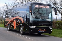 YJ16EOA  Allander, Milngavie (highlandreiver) Tags: travel bus green scotland coach glasgow tx scottish gretna van coaches milngavie hool allander eoa yj16eoa yj16
