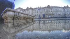 Palacio Real (Madrid). (Sara AD.) Tags: madrid street city urban espaa photography town photo calle spain europa europe sony reflejo hdr palacioreal sonyas20
