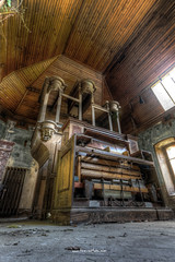 Massive and impressive (Fine Art Foto) Tags: urban france abandoned frankreich decay urbandecay organ urbanexploration amelie villa chateau derelict decaying orgel urbex lostplaces lostplace
