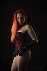 z_DSC2737 Eva Luna (martyus1) Tags: lingerie lenceria pelirroja corpio