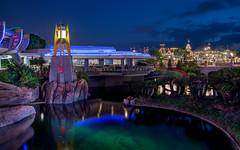 Lagoon (mwjw) Tags: world longexposure orlando nightshot florida disney magickingdom nikon24120mm markwalter nikond800 mwjw
