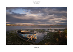 Crepuscle IV (Toni de Ros) Tags: barca sundown crepusculo deltadelebre crepuscle badiadelsalfacs