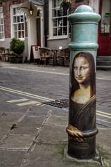Da Vinci's Post Mona Lisa Era (Thank you for 4M+ views.) Tags: street painting post monalisa winchester bollard leonardodavinci