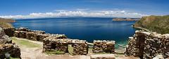 Titicaca (Chachino) Tags: travel titicaca america canon landscape bolivia panoramic panoramica latinoamerica isladelsol