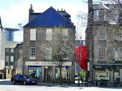 Interzone by Iain Kettles (Paul Profili) Tags: red art look festival design scotland balloon structures again aberdeen inflatable visual interzone thegreen martinslane iainkettles