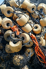 NS-00564 - Nets and Buoys (archer10 (Dennis) (72M Views)) Tags: canada net novascotia sony free lobster dennis jarvis peggyscove buoys traps iamcanadian mirrorless freepicture dennisjarvis archer10 dennisgjarvis alpha7ii 24240mm
