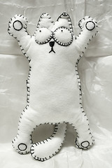 Simons Cat (Uniquekerer) Tags: cute felted cat handmade felt handcrafted simonscat uniquekerer