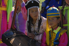 Children in Traditional Costumes