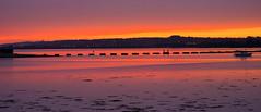 Langstone grab (Langstone Joe) Tags: longexposure sunset reflections twilight haylingisland hampshire langstoneharbour havant portsdownhill billyline