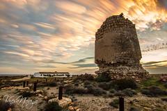 Torre de cerrillos (Vanesa Naranjo) Tags: plaza las del de mar grande los cabo playa gata toros muertos almera dedo cala cerrillos roquetas arrecife seor sirenas barronal